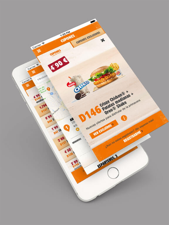 Burger King España iPhone app